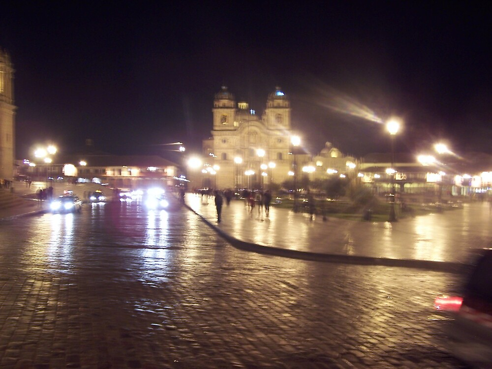 Cuzco at Night by dtomw