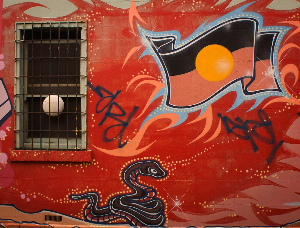 Australian Graffiti by daveoh