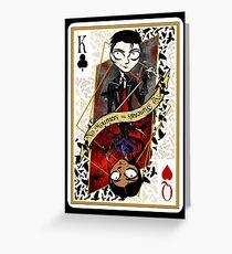 Six of Crows- King and Queen Greeting Card