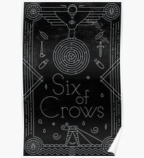 Six of Crows: Illustration Poster