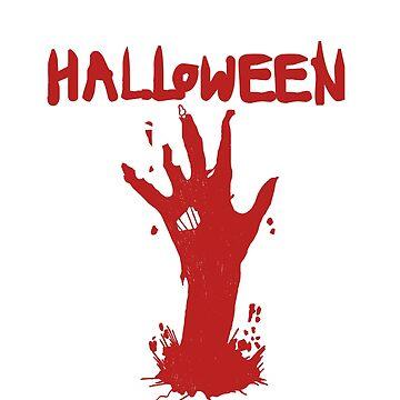Halloween High Five by BavApparel