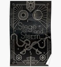 The Grisha Trilogy - Siege and Storm: Illustration Poster