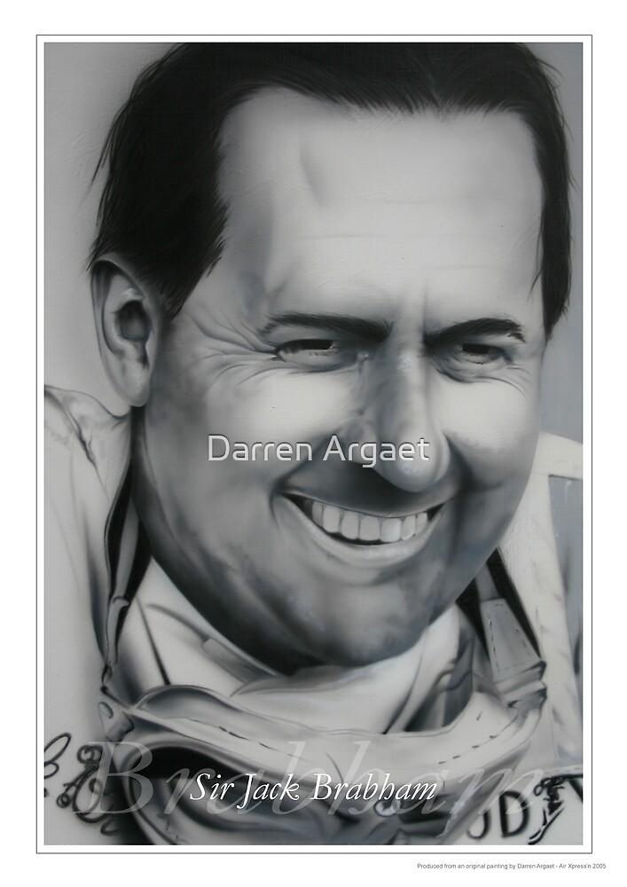 Sir Jack Brabham by Darren Argaet