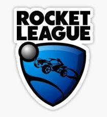Rocket League -BLACK Logo Sticker