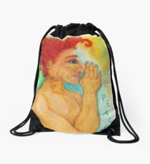 Find Inner Peace Drawstring Bag
