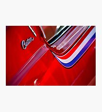 The Last 'Real' GTO - C Piller Trim Photographic Print