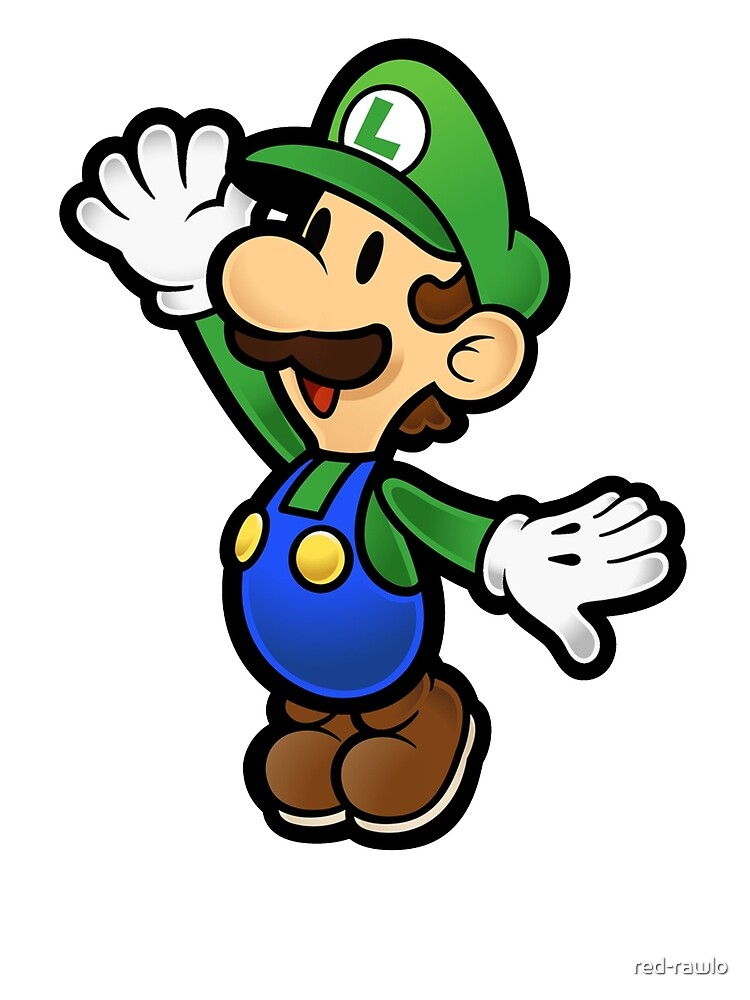Luigi by red-rawlo