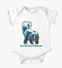 Florida Skunk Rescue Design by Robert Phelps Kids Clothes