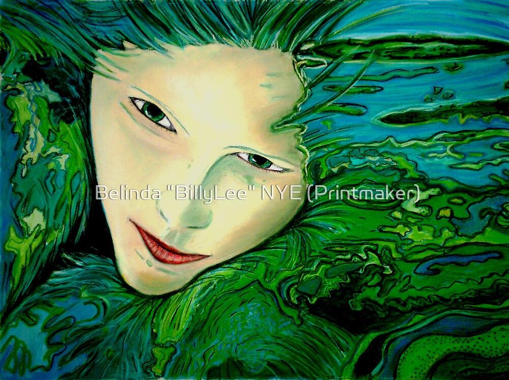 """Aqua Allure by Belinda """"BillyLee"""" NYE (Printmaker)"""