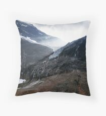 Mount Edith Cavell, Alberta, Canada Throw Pillow