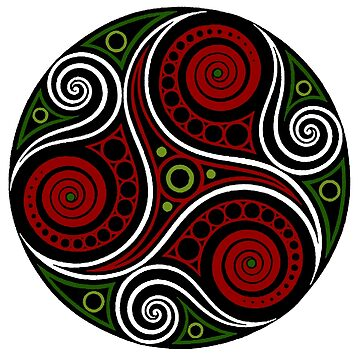 Celtic Triskell (abstract) by potty