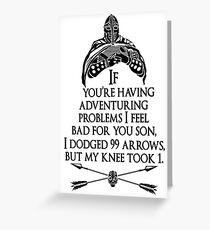 Tarjeta de felicitación Arrowborn