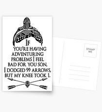 Arrowborn Postcards
