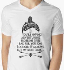 Arrowborn Men's V-Neck T-Shirt