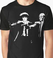 Cowboy Bebop - Spike Jet KnockOut Graphic T-Shirt