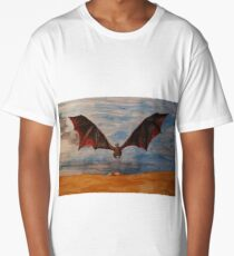 Fire and Blood Long T-Shirt