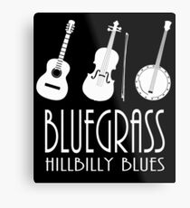 Bluegrass Music Metal Print