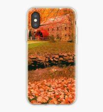 Massachusetts Mill Farm iPhone Case