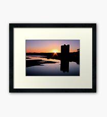 Belvelly Castle Sunrise Framed Print