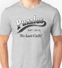 Camiseta ajustada Rompecabezas Bar