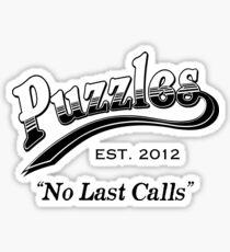 Puzzles Bar Sticker