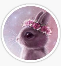 Fairy bunny Sticker