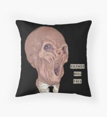 Silence Will Fall Throw Pillow