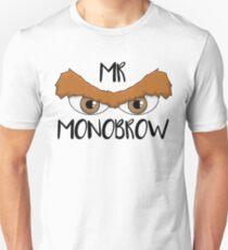 Mr Monobrow Brown Hair T-Shirt