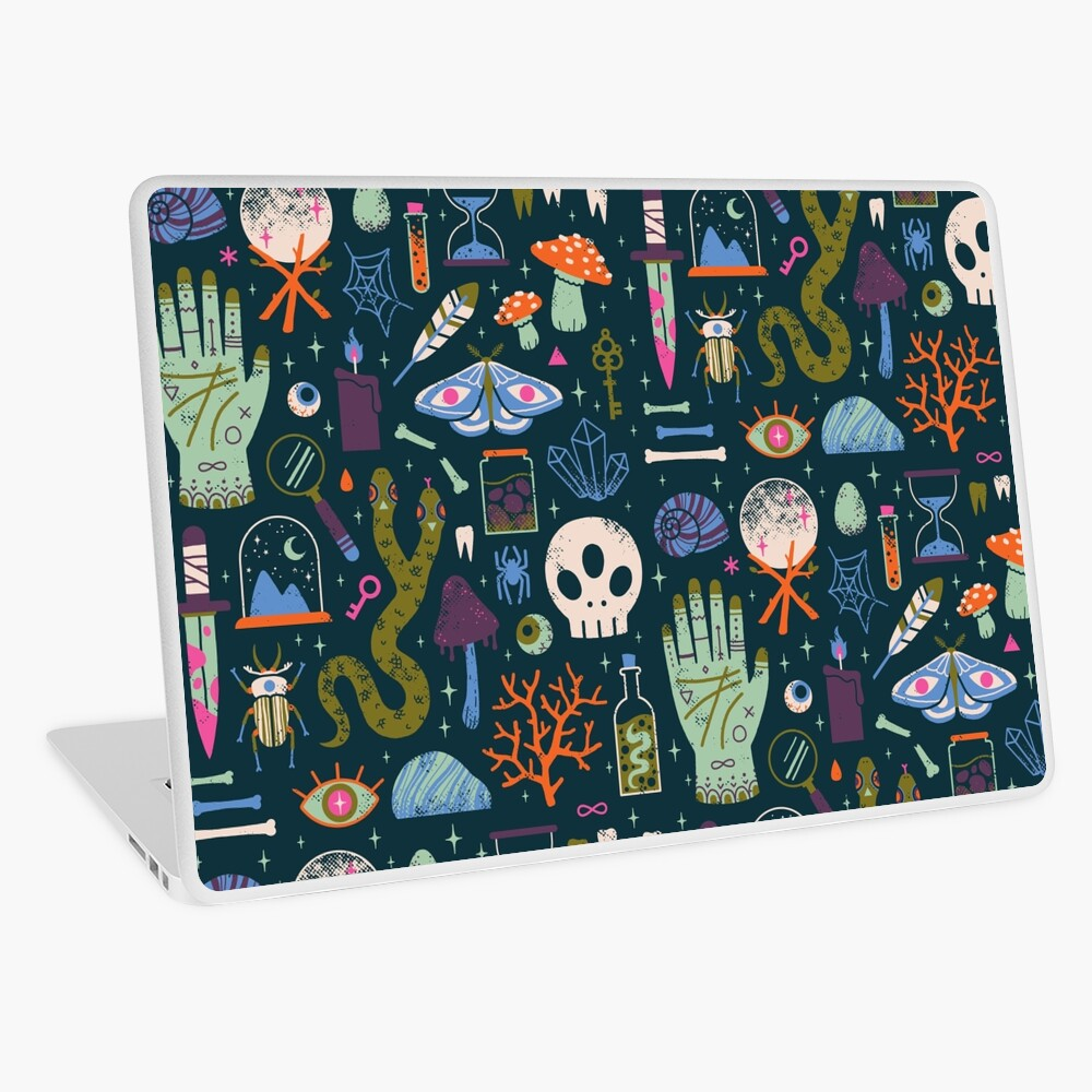 Curiosities Laptop Skin