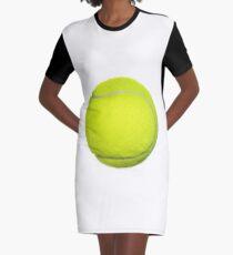 Tennis Ball T-Shirt Kleid