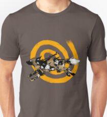 Painted dog Unisex T-Shirt