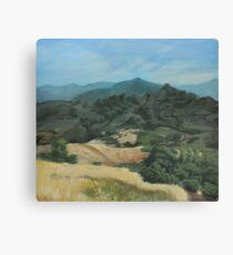 Northern California Landscape Canvas Print