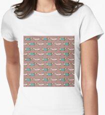 Cute dachshunds Women's Fitted T-Shirt