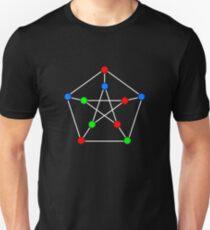 Petersen Graph 3-Coloring T-Shirt