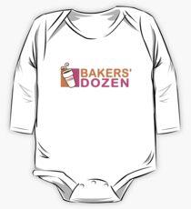 Phish - Bakers Dutzend - Madison Square Garden Baby Body Langarm
