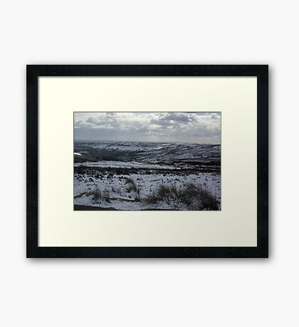 Rosedale in Winter Framed Print
