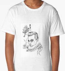 Hello! I'm Johnny Cash Long T-Shirt