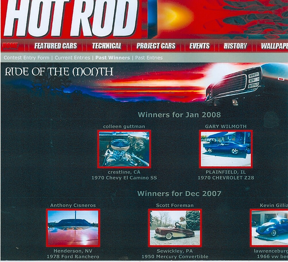 winner hot rod of the month jan 2008 by unstableable
