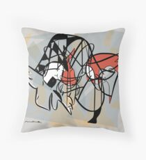 Guest of a dream Throw Pillow