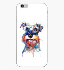 Schnauzer Head iPhone Case