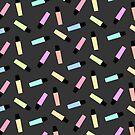 Highlighter Pattern by Jessica Slater