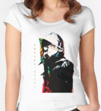 •Metro ghoul• Fitted Scoop T-Shirt