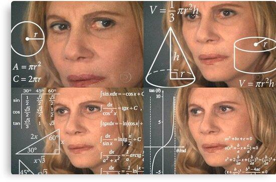 Image result for math lady meme