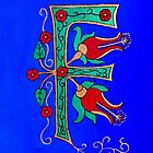 """Medieval Letter """"F"""" by Shulie1"""