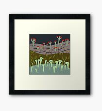 Moss with Lichens Framed Print
