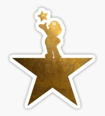 Super Mario Hamilton Star Parody Sticker