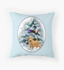 Norfolk Terrier Christmas Gifts Throw Pillow