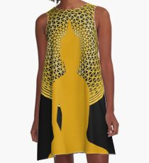 Buddha Meditation  A-Line Dress