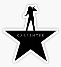 Carpenter Star Sticker