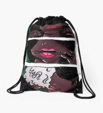 Puff Pretty Drawstring Bag